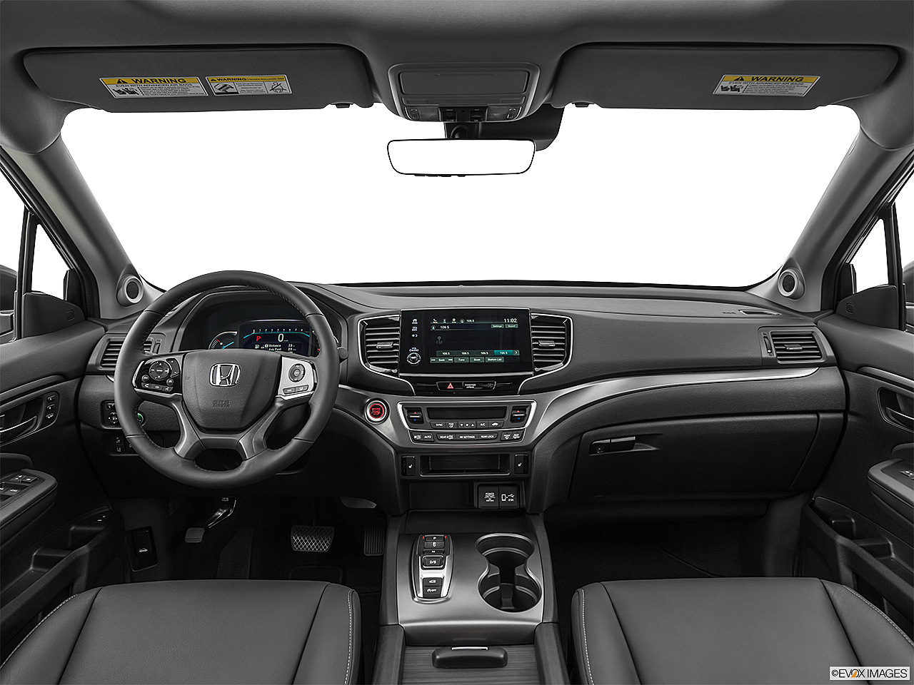 2021 Honda Pilot EX-L, centered wide dash shot