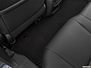 2021 Honda Pilot EX-L, rear driver's side floor mat. mid-seat level from outside looking in.
