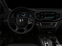 "2021 Honda Pilot EX-L, centered wide dash shot - ""night"" shot."