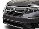 2021 Honda Pilot EX-L, close up of grill.