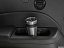 2021 Honda Pilot EX-L, third row side cup holder with coffee prop.