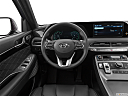 2021 Hyundai Palisade Limited, steering wheel/center console.