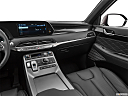 2021 Hyundai Palisade Limited, center console/passenger side.