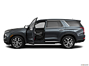 2021 Hyundai Palisade SEL, driver's side profile with drivers side door open.