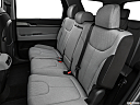 2021 Hyundai Palisade SEL, rear seats from drivers side.