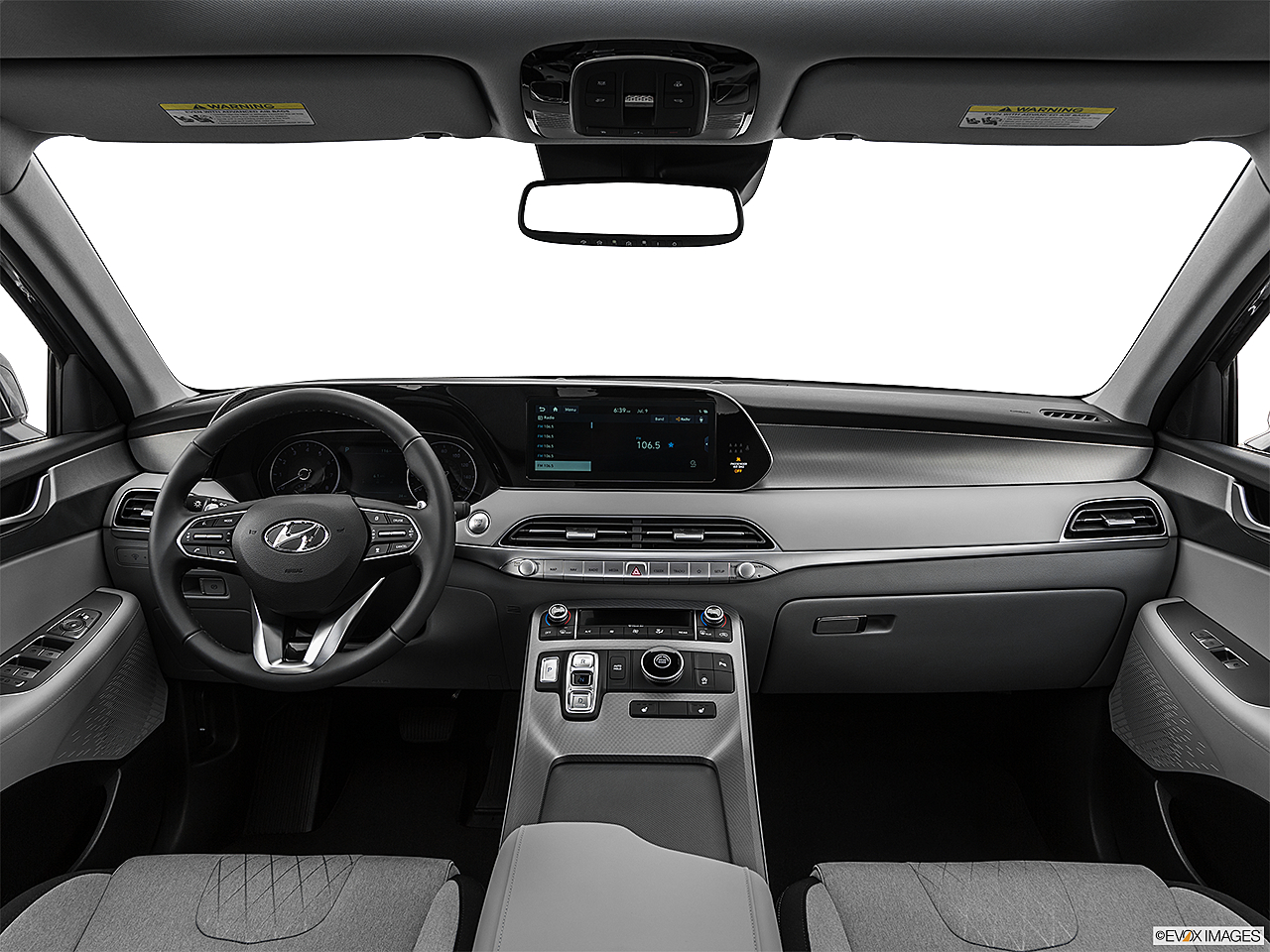 2021 Hyundai Palisade SEL, centered wide dash shot