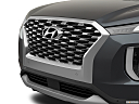 2021 Hyundai Palisade SEL, close up of grill.
