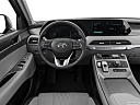 2021 Hyundai Palisade SEL, steering wheel/center console.