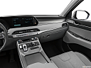 2021 Hyundai Palisade SEL, center console/passenger side.