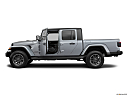 2021 Jeep Gladiator Overland, driver's side profile with drivers side door open.