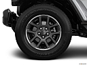 2021 Jeep Gladiator Overland, front drivers side wheel at profile.