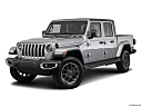 2021 Jeep Gladiator Overland, front angle medium view.