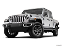 2021 Jeep Gladiator Overland, front angle view, low wide perspective.