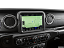 2021 Jeep Gladiator Overland, driver position view of navigation system.