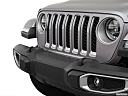 2021 Jeep Gladiator Overland, close up of grill.