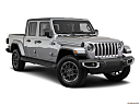2021 Jeep Gladiator Overland, front passenger 3/4 w/ wheels turned.