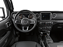 2021 Jeep Gladiator Overland, steering wheel/center console.