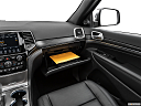 2021 Jeep Grand Cherokee Limited, glove box open.