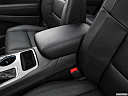 2021 Jeep Grand Cherokee Limited, front center console with closed lid, from driver's side looking down