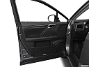 2021 Lexus RX RX 350, inside of driver's side open door, window open.