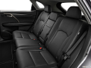2021 Lexus RX RX 350, rear seats from drivers side.
