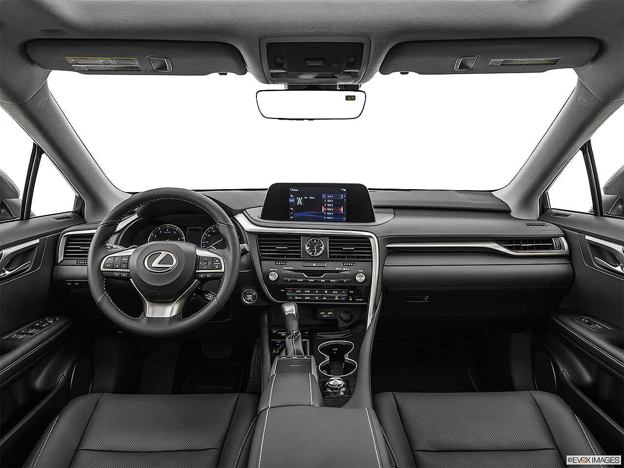 2021 Lexus RX RX 350, centered wide dash shot