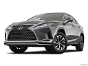 2021 Lexus RX RX 350, front angle view, low wide perspective.