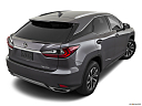 2021 Lexus RX RX 350, rear 3/4 angle view.