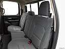 2021 RAM 1500 Tradesman, rear seats from drivers side.