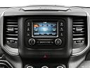 2021 RAM 1500 Tradesman, closeup of radio head unit