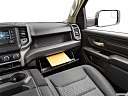 2021 RAM 1500 Tradesman, glove box open.