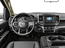 2021 RAM 1500 Tradesman, steering wheel/center console.
