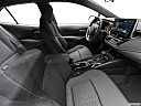 2021 Toyota Corolla Hatchback SE, fake buck shot - interior from passenger b pillar.