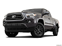 2021 Toyota Tacoma SR5, front angle view, low wide perspective.