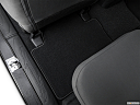 2021 Toyota Tacoma SR5, rear driver's side floor mat. mid-seat level from outside looking in.