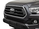 2021 Toyota Tacoma SR5, close up of grill.