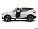 2021 Volvo XC40 T5 AWD R-Design, driver's side profile with drivers side door open.