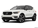 2021 Volvo XC40 T5 AWD R-Design, front angle medium view.