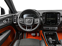 2021 Volvo XC40 T5 AWD R-Design, steering wheel/center console.