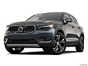 2021 Volvo XC40 T4 Inscription, front angle view, low wide perspective.