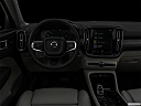 "2021 Volvo XC40 T4 Inscription, centered wide dash shot - ""night"" shot."