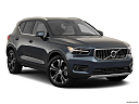 2021 Volvo XC40 T4 Inscription, front passenger 3/4 w/ wheels turned.