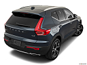 2021 Volvo XC40 T4 Inscription, rear 3/4 angle view.