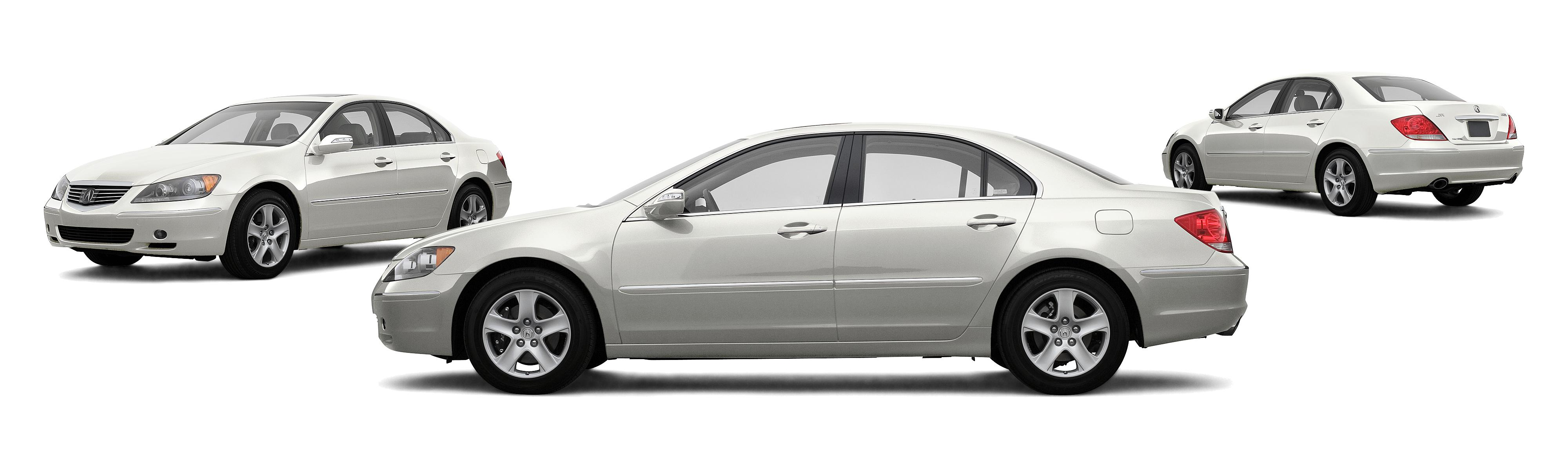 2007 Acura RL SH AWD 4dr Sedan w CMBS and PAX Tires Research