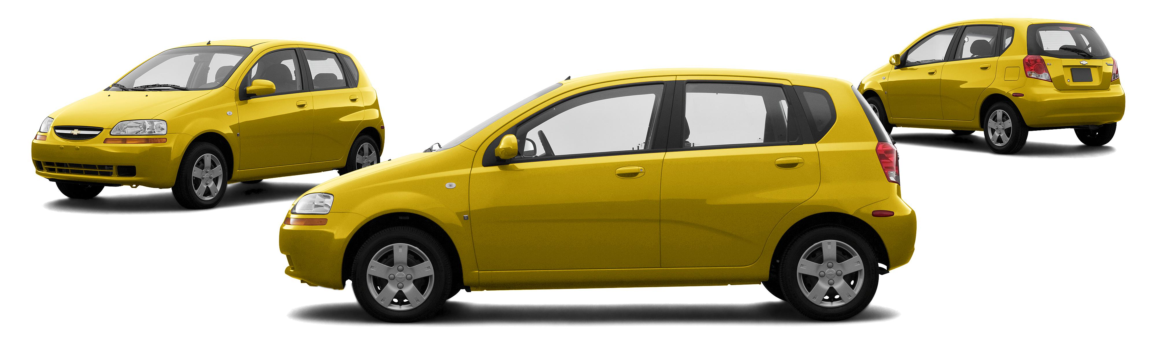 Chevrolet Aveo Special Value Dr Hatchback Summer Yellow Composite Large