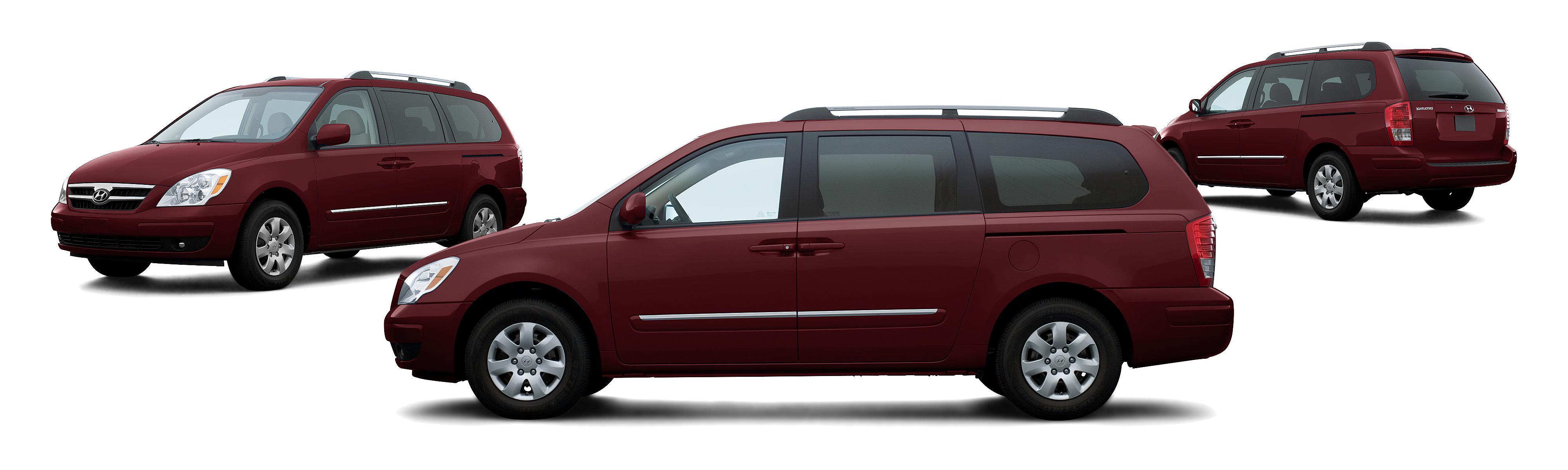 Hyundai Entourage Gls Dr Mini Van Cranberry Red Composite Large on 2007 Hyundai Elantra Fuse Label