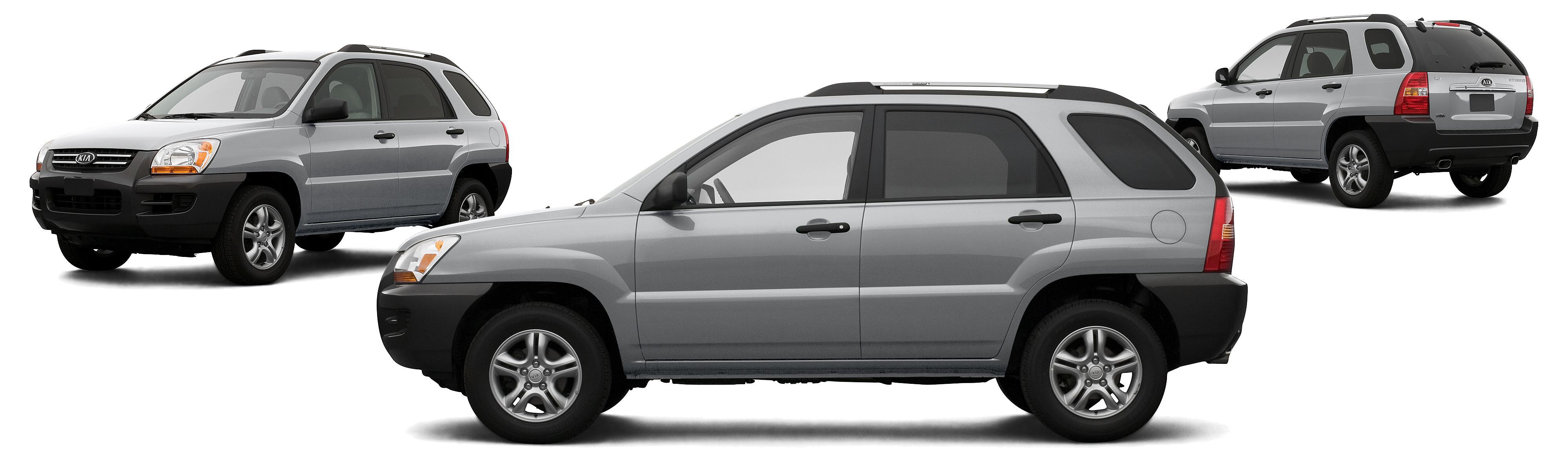 2007 Kia Sportage LX 4dr SUV 4WD 2L I4 5M Research GrooveCar