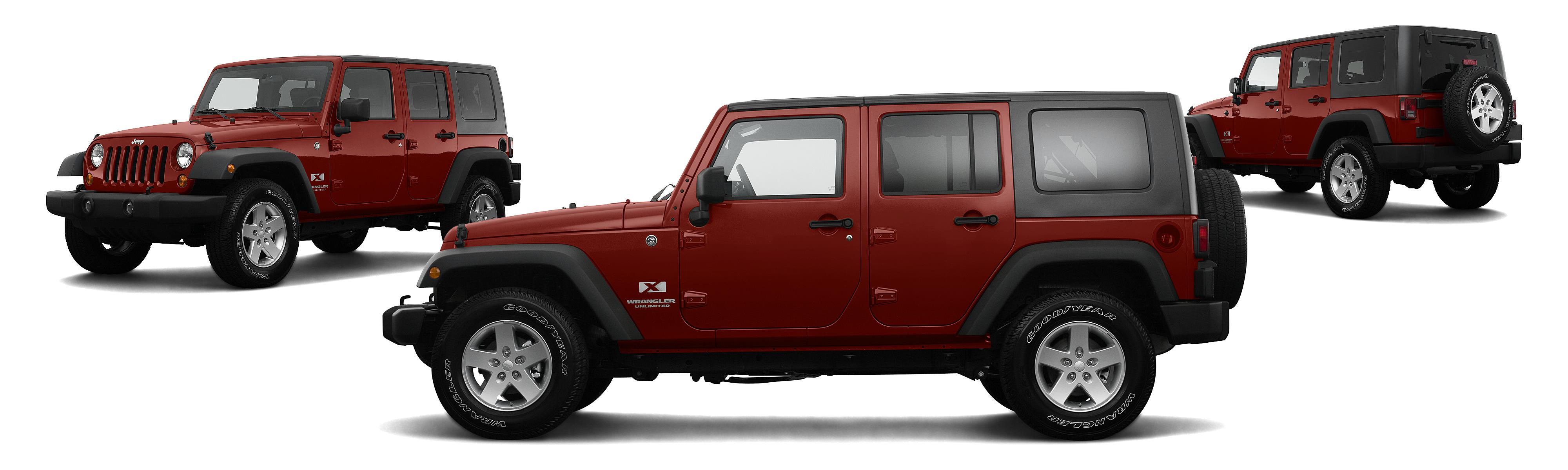 2008 Jeep Wrangler Unlimited 4x2 X 4dr SUV Research GrooveCar