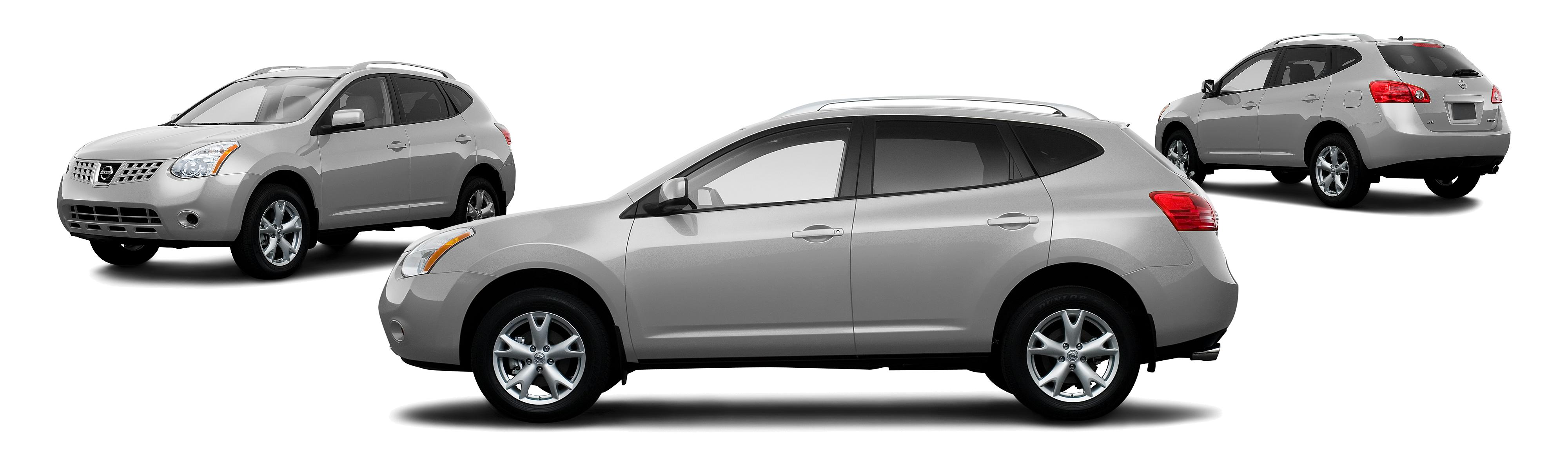 2008 Nissan Rogue SL Crossover 4dr Research GrooveCar