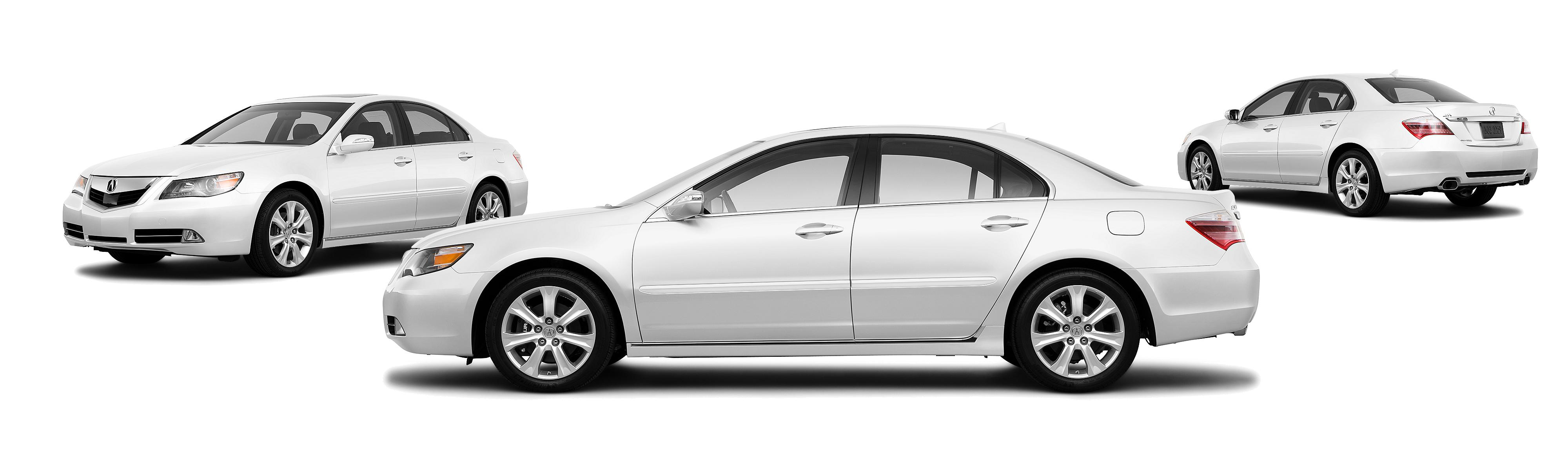 2010 Acura RL SH AWD 4dr Sedan w Technology Package CMBS ACC Package